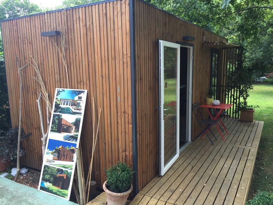 bureaux de jardin kit a g brick. Black Bedroom Furniture Sets. Home Design Ideas